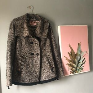 Juicy Couture Wool Blend Small Winter Coat jacket